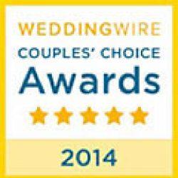Wedding Wire 2014 Couple's Choice Award for Florida Sun Beach Weddings