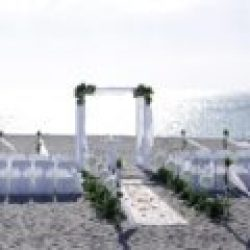 white elegance beach wedding package for florida sun weddings | florida beach weddings